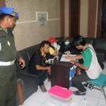 RAZIA BOYOLALI : Tim Gabungan BNN, TNI, dan Polri Jaring 1 Pengguna Narkoba