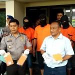 NARKOBA SOLO : Polresta Solo Tangkap 5 Anggota Jaringan Narkoba