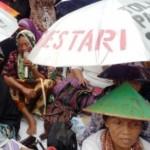 PABRIK SEMEN PATI :  Dituduh Palsukan Tanda Tangan, 2 Petani Kendeng Diperiksa 5 Jam