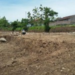Lahan seluas 7.400 meter persegi untuk membangun perumahan khusus TKI di Desa Karangrejo, Kecamatan Wungu, Kabupaten Madiun. Foto diambil Selasa (20/12/2016). (Abdul Jalil/JIBI/Madiunpos.com)