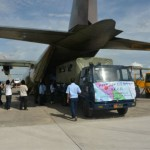 GEMPA ACEH : Bantuan dari Jogja Diberangkatkan dengan Pesawat Hercules
