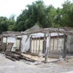 BENCANA KLATEN : 5 Rumah di Tepi Kalikuning Klaten Terancam Roboh