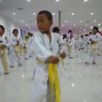 BERITA FOTO : 1.500 Orang Ikuti Ujian Kenaikan Tingkat Taekwondo Mahameru Sukoharjo