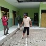 BENCANA PONOROGO : Tanah Bergerak, Bangunan SDN 02 Tugurejo Terancam Ambrol