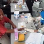 Puluhan Sopir dan Awak Angkutan di Terminal Dhaksinarga Jalani Tes Urine dan Kesehatan