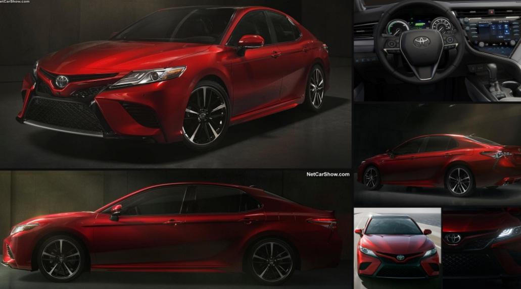 Новый Toyota Camry фото видео, цена комплектации