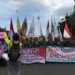 DEMO MAHASISWA : Tak Ditemui Jokowi, Mahasiswa Ancam Demo Lanjutan Lebih Ganas