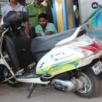 Begini Jadinya Jika Skuter Honda Memakai Bahan Bakar Gas