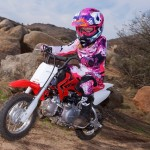 MOTOR HONDA : CRF50F 2017 Tunggangan Mungil Crosser Pemula