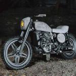 Begini Jadinya Motor Era 1980-an Honda Dimodifikasi Pakai Batu