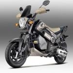 MOTOR BARU HONDA : Honda Luncurkan Navi Jenis Adventure dan Chrome Edition
