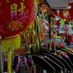 FOTO TAHUN BARU IMLEK : Pusat Perbelanjaan Bernuansa Tiongkok