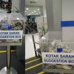 Kotak saran diisi uang sumbangan, netizen tanyakan literasi bangsa (Twitter)