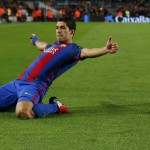 Suarez 100 Gol di Barca, Trio MSN 300
