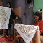 UKM JOGJA : Lukis Batik Tamansari Konsisten Mengangkat Motif Pewayangan