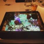 Menu restoran dihidangkan berasal Ipad (Instagram)
