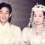 Otou dan Yumi saat menikah (Daily Mail)