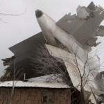 Pesawat jatuh di Kyrgyzstan (Reuters)