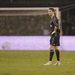 Ekspresi para pemain Real Madrid setelah menelan kekalahan. (JIBI/REUTERS/Miguel Vidal)
