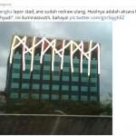"@UstadTengku Tanya Ornamen Hotel Alexis Mirip Tulisan ""PKI""? Ini Jawaban Netizen"