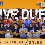 RISING STAR INDONESIA : 12 Kontestan Babak Live Duel 1 Malam Ini