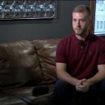 Ross Lebeau pria yang menjadi korban salah tangkap (abc13.com)