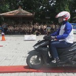 Komunitas Honda di Kudus Sebarkan Virus Safety Ridding ke Pelajar