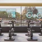 Tampilan dari dalam Paris Navigating Gym (Communicazione Ratti)