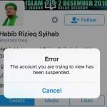 Akun Habib Rizieq dan FPI Di-suspend, Ini Penjelasan Twitter