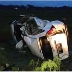 KECELAKAAN SRAGEN : 3 Orang Tewas Akibat Avanza Terguling, Salah Satunya Polisi