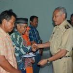 BANTUAN KORBAN BENCANA : Korban Angin Kencang Sleman Dapat Bantuan Rp84,7 juta