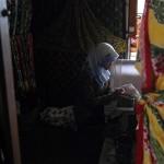 FOTO BATIK SEMARANG : Batik Gemawang Diproduksi di Jambu