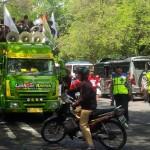 Massa Asosiasi Petani Tembakau Indonesia (APTI) Jateng mendatangi Kantor Gubernur Jateng, Kota Semarang, Senin (9/1/2016). (Imam Yuda Saputra/JIBI/Semarangpos.com)
