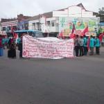 FOTO DEMO SUKOHARJO : Mahasiswa UMS Tuntut Pemerintah Tegakkan Keadilan Sosial