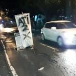 KECELAKAAN SALATIGA : Jalan Rusak di Depan Pasaranyar Kerap Bikin Celaka
