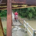 INFRASTRUKTUR BANTUL : Jembatan Nambangan Dinyatakan Berbahaya, Akses Melintas Ditutup