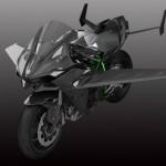 Kawasaki Bikin Sportbike H2R dengan Bodi Bersayap