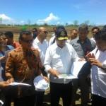 Menhub Cek Persiapan Lokasi Bandara Kulonprogo