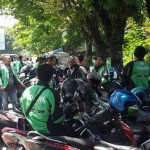 Ojek Pangkalan Tolak Gojek Mangkal di Karanganyar