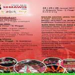 TAHUN BARU IMLEK : Pasar Semawis Kembali Hadir di Semarang