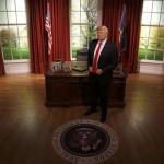 Trump Singkirkan Obama di Museum Madame Tussauds London