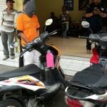 PENCURIAN MADIUN : 12 Kali Mencuri Motor, 2 Warga Magetan Ditangkap Polisi