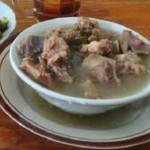 tampilan karya kuliner khas Grobogan, sayur becek. (Ragamkuliner.com)