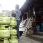 BAHAN BAKAR GAS : Tabung Elpiji 3 Kg Bekas Masih Banyak Diminati