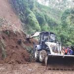 BENCANA ALAM JATENG : Longsor di Lereng Gunung Merapi, Akses Jalan ke Boyolali Ditutup