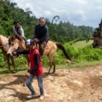 FOTO WISATA SEMARANG : Bisa Berkuda ke Candi Gedongsongo