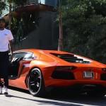 Kecelakaan di Beverly Hills, Supercar Chris Brown Ringsek