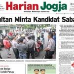 HARIAN JOGJA HARI INI : Sultan Minta Kandidat Sabar