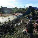 Foto-Foto Pengungsi Korban Banjir Solo, Dingin…