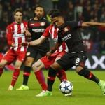 LIGA CHAMPIONS : Atletico Madrid Menang 4-2 di Kandang Leverkusen